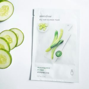 Innisfree - My Real Squeeze Mask EX Cucumber